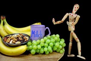 Bei Nahrungsmittelunverträglichkeit treten nach dem Verzehr von gewissen Lebensmitteln Beschwerden auf